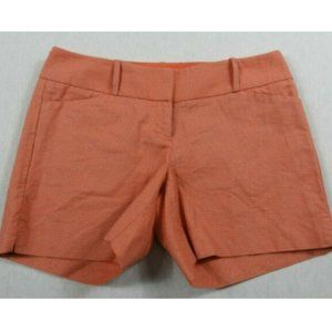 The Limited Coral Pink & Tan Shorts Women's Size 4